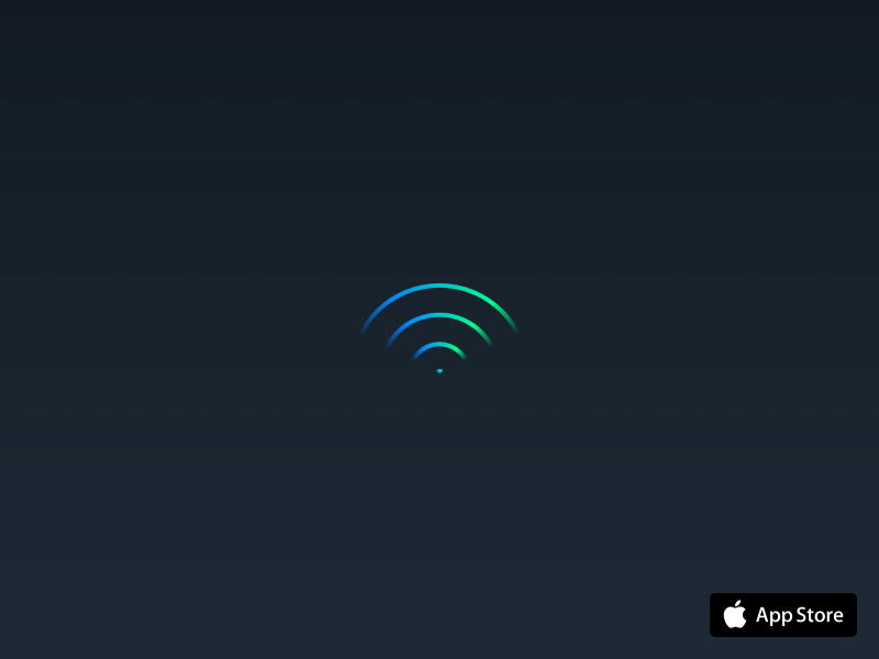 Today WiFi app signal network extension widget ssid iphone apple ios wifi today