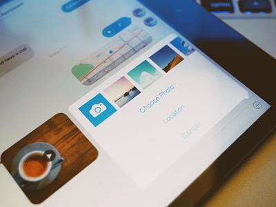 Yep for iPad yep grid explore ui ipad avatar tag card profile user social app ios