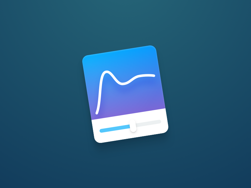 Spring Visualizer for Mac icon visualizer ui tool spring slider framerjs framer curve bounce animation animate