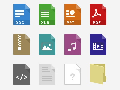 Filetypes icon file format filetype office simple folder icons