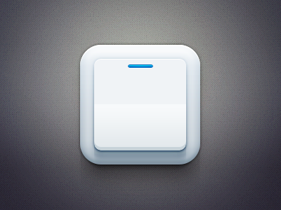Tik,Tok switch switchy open close settings option toggle power icon app design