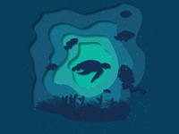 Some underwater illustration