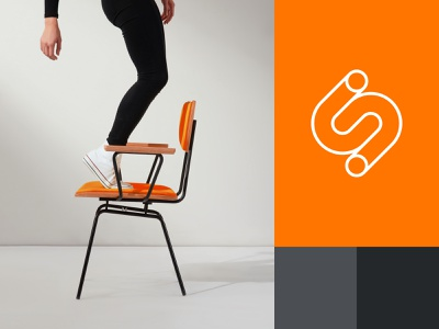 Scherbak – logomark design branding brand identity graphic design letter s logo monogram furniture mark emblem minimal