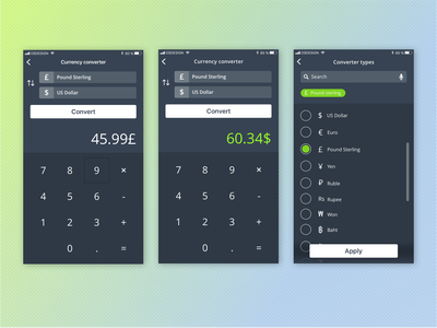 004calculator currency converter currency exchange calculator dailyui004 dailyui