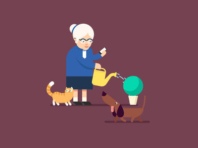 Ba and pets