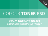 Free Colour Toner PSD