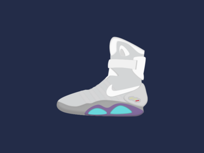 The Future is Now! back to the future shoes mcfly 2015 tribute mags nike