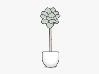 Fig Tree fig vector plants plant nature minimal illustration