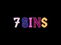 7 Sins bar and restaurant logo animation