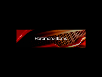 HardmanWilliams - Engineering Services Logo typography design engineering serif animation branding design logo brand identity typography brand