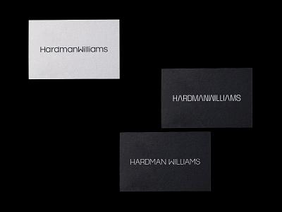 HardmanWilliams - Logo Routes future science technology minimal simple slick engineering upper case san serif custom letters vector branding design logo brand identity typography brand