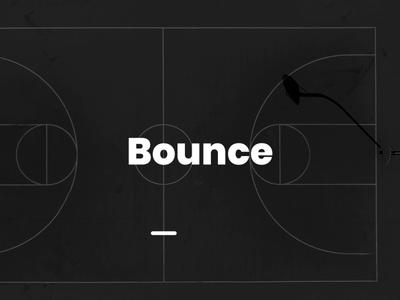 Bounce - typography animation