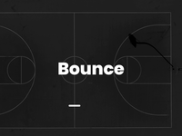 Bounce - typography animation