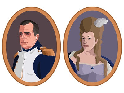 Portrait of my Parents as 18th Century Characters