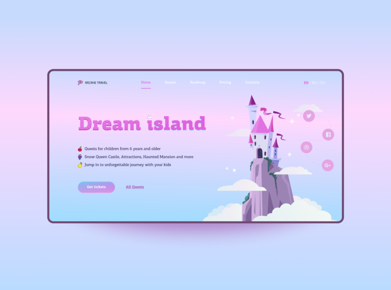 Weekly inspiration UI / UX