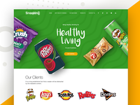 Landing Page - Healthy Living