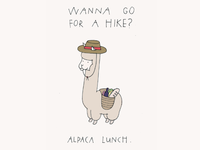 Actual Holidays Greeting Card - Go For a Hike Day