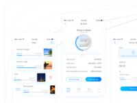Goals in CAVU Mobile banking app