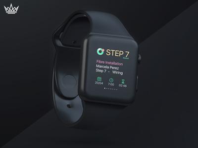 VW Apple Watch (Steps)