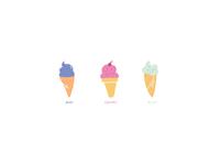 Ice cream in January