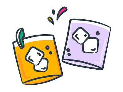 Happy Hour illustrator vector illustration web happy hour splash
