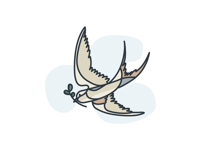 30 Min Design Challenge: S for Swallow quick bird swallow design challenge