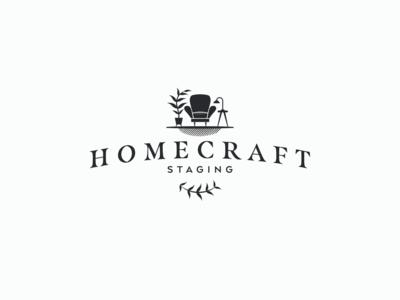HomeCraft Staging logo, version 2