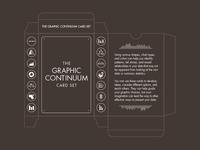 The Graphic Continuum Card Set Box Net Design
