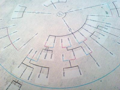 Norse Mythology Family Tree Circular 2 By Severino R Dribbble