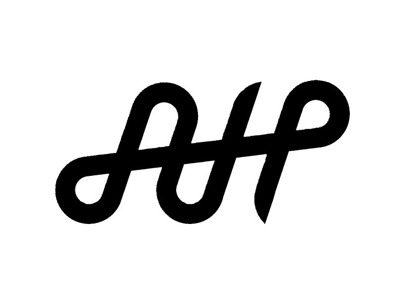 Ah Monogram Logo By Andrew Hernandez On Dribbble