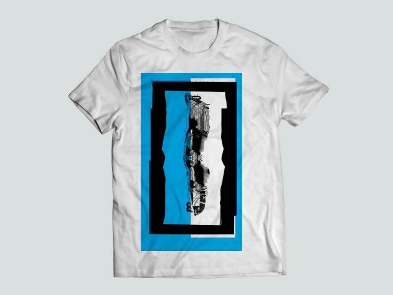 Collage Graphic Tee abstract tshirt design tee shirt tshirt grunge texture collage