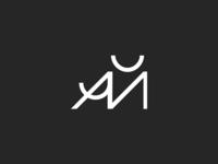 Minimalistic geometric сyrillic logo