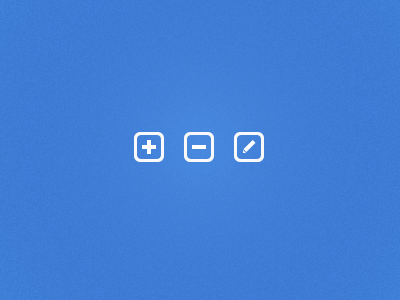 Buttons add delete edit buttons sketch file