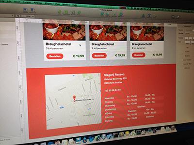 Butcher Shop Web Design  web design html5 css3 webshop