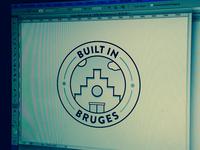 Built in Bruges Stamp