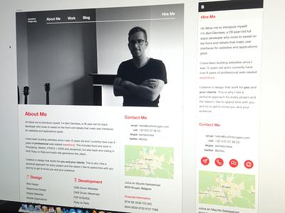 Website redesign website builtinbruges responsive html5 css3 sketch