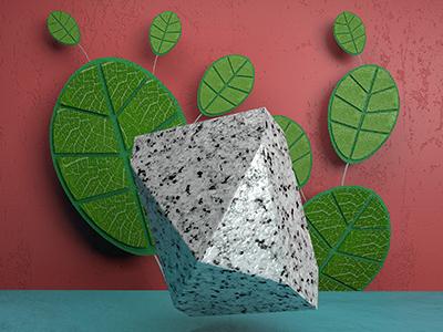 Leaves creation content cgi texture arnold cinema4d 3d