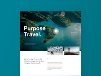 Fathom Travel—Web Design