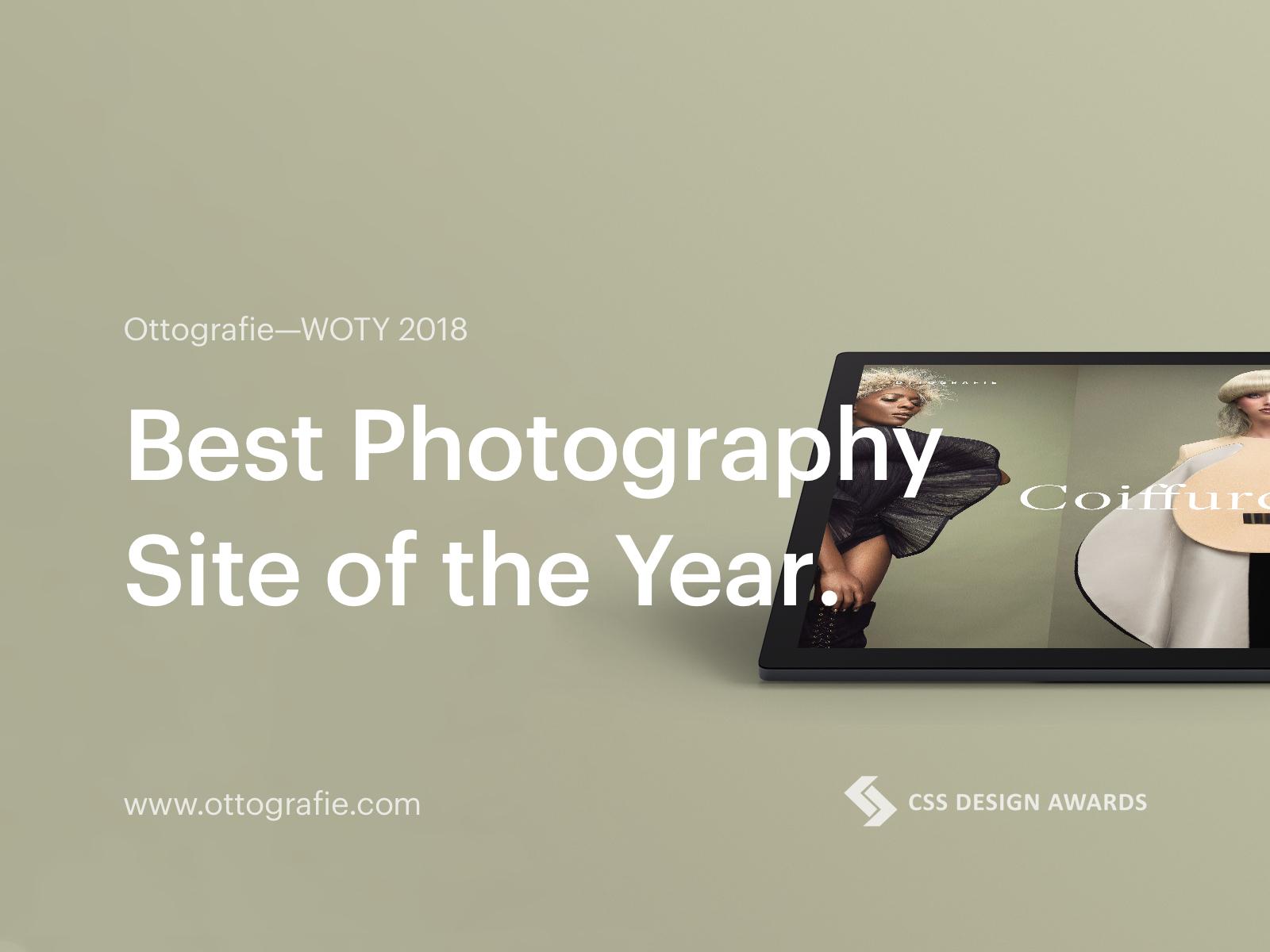 Woty 2018 css design awards ottografie