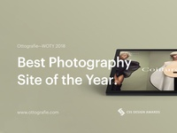 Ottografie—Photography Website of the Year 2018