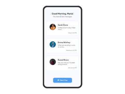 Messaging App UI