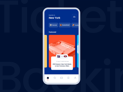 #20 Sport Ticket Booking mobile app mobile ui seats uidesign transition booking sport ticketing ticket 3d after effects mobile interface interaction ui app clean interactive ux ui animation