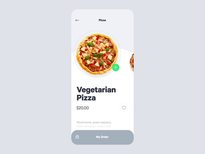 #5 Pizza Order after effect motion vietnamese designer design ui checkout animation interface interactive ux ui app ecommence order food order pizza