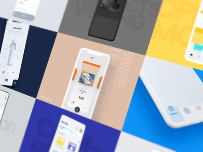 Top 9 of 2019 showreel mobile interaction after effects top 9 2019 design app clean ui interactive animation ux ui