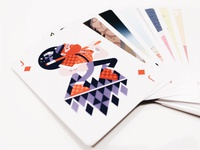 (lumber)jack of diamonds card