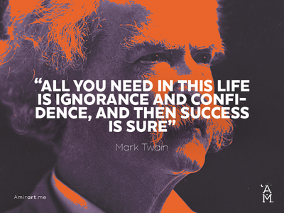 quotes layout. twain mark famous quote