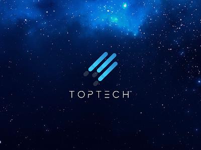 TopTech Rebranding project proposal rebranding logo tech toptech