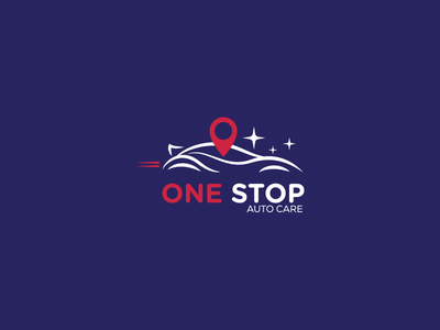 One Stop - Auto Care proposal rebranding care auto stop one