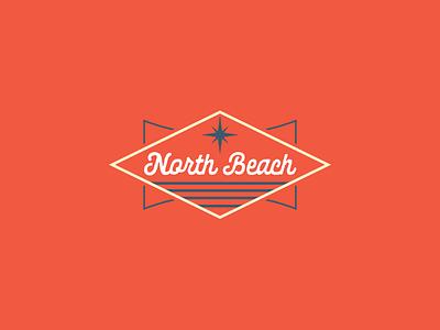 North Beach Branding logo beach north