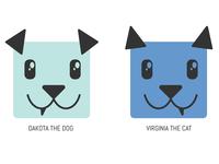 Dakota and Virginia Icons